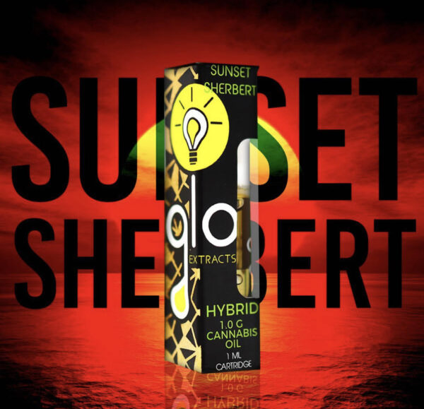 Buy Glo Extract Sunset Sherbert Online, Glo Extract sunset sherbert for sale, buy glo carts online, buy glo carts flavors, buy glo carts